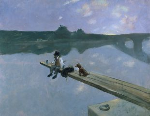 The Fisherman, 1884, Oil on canvas