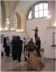 Sculptures at Southampton City Art Gallery