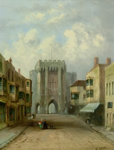 High Street and Bargate, Southampton, Richard Cook