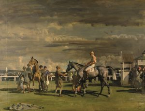 Horses painted by Alfred James Munnings