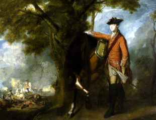 Cornet Nehemiah Winter, 11th Dragoons, 1759, oil on canvas
