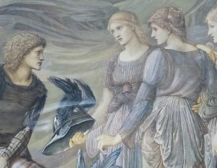 Edward Burne-Jones, Perdeus and the Sea Nymphs